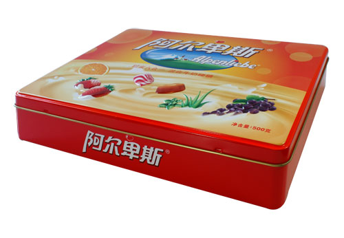 Promotion Decorated Color Printing Candy Tin Box