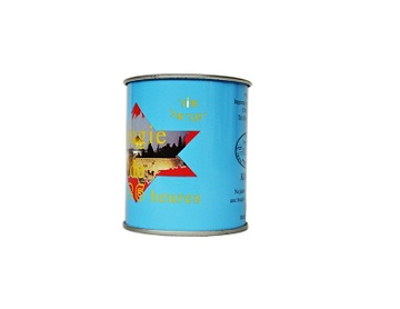Colorful mini candle tin can
